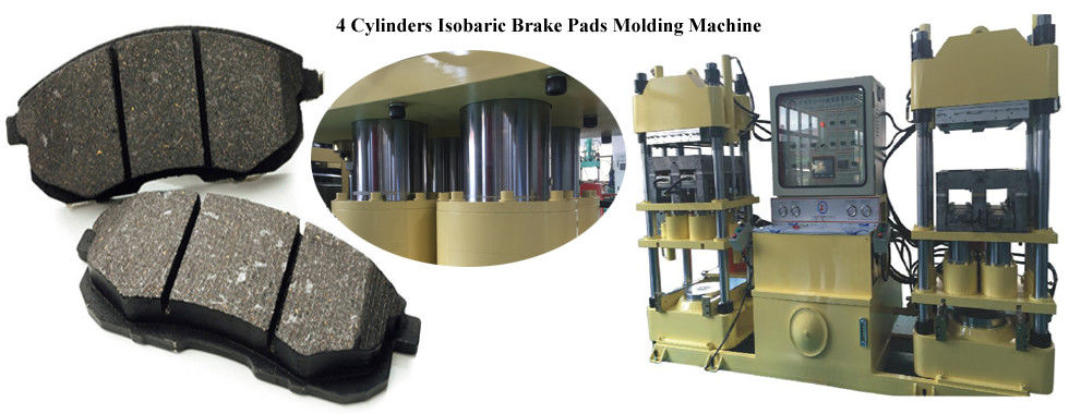Rubber Brake Pad Making Machine