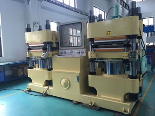 China Auto Parts Rubber Brake Pad Making Machine Large Production Capacity Low Noise supplier