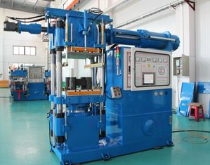 Customized Rubber Injection Moulding Machine , Large Capacity Rubber Moulding Press Machine