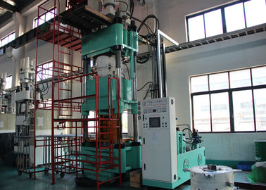 800 Ton Low Bed Structure Rubber Curing Bladder Molding Machine