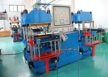 Four Column Silicone Injection Molding Machine , Custom Rubber Vulcanization Molding Machine