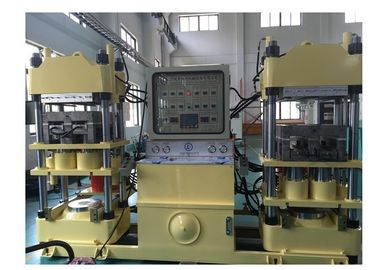 Pressure Adjustable Brake Pad Manufacturing Equipment , Rubber Curing Press