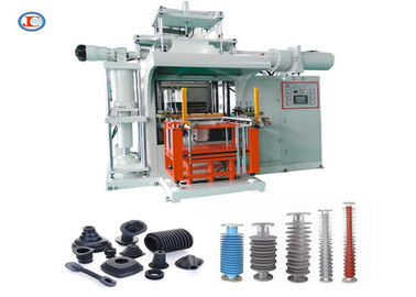 Grey Or Blue Horizontal Rubber Injection Molding Machine With Automatic Alarm Function