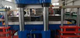 One Hour Produce 700 Pieces, Double Press Install 4 Molds 400 Ton Disc Brake Pads Making Machine