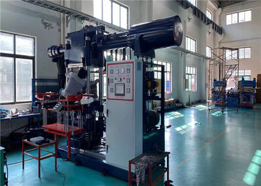 Oil Drilling Rubber Plunger Type Injection Moulding Machine 400 Ton Horizontal