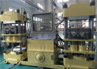 Efficient 4000KN Brake Pad Molding Machine Double Stations Easy Operation