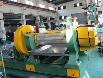 400 MM Roller Diameter Rubber Mixing Machine Automatic Control For Solid Silicone