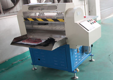High Safety Rubber Cutting Equipment , Digital Rubber Slippers Cutting Machine