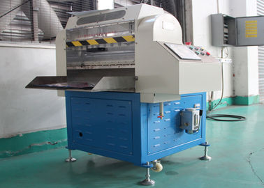 Adjustable Width Rubber Strip Cutting Machine , Manual Rubber Cutting Equipment