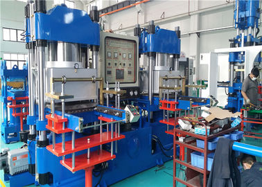 2 RT Opening Stroke 250 Ton Vacuum Compression Molding Machine , Silicone Rubber Vulcanizing Machine