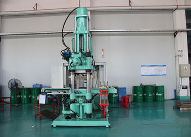 High Efficiency Silicone Rubber Injection Molding Machine / Vertical Hydraulic Oil Press Equipment
