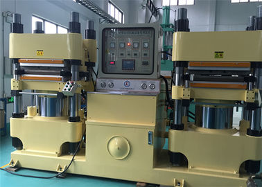 China Commercial Brake Pad Machinery Brake Pad Molding Machine 4000 KN Clamp Force factory