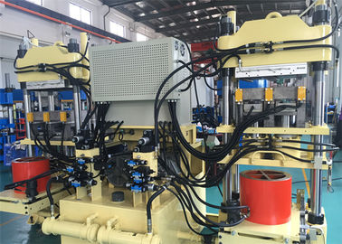 China 200 Ton / 400 Ton Motorcycle Brake Pad Moling Machine 4 Column Type Molding Machine factory
