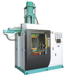 Vertical Silicone Rubber Injection Molding Machine , 400 Ton Rubber Stopper Injection Machine 4000cc Volume