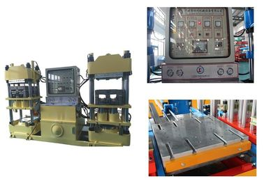 42kw Hot Press Rubber Brake Pad Making Machine With Automatic Changeable Pressure