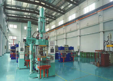 2000 KN All In All Out Rubber Molding Equipment With 2000CC Injection Volume