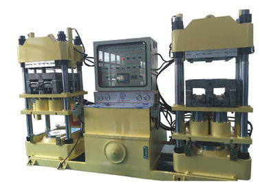 Japan Hydraulic Technology Isobaric Molding Machine For Brake Pads 400 Ton Dual Plates