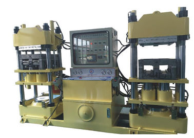 China Auto Rubber Brake Pad Making Machine 200 Ton For Friction Material Molding factory