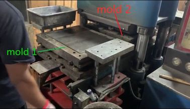 400 Ton Hydraulic Hot Press Machine To Produce Car Brake Pads 700 Pieces One hour