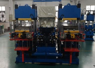 China Front / Rear Opening Rubber Injection Moulding Machine For Brake Pads factory
