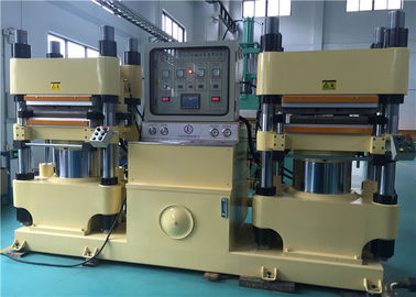 China 75KW Rubber Brake Pad Making Machine , Industrial Car Brake Pad Production Line Machine factory