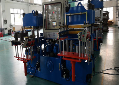 China 400 T Brake Pad Molding Machine Same Density Pressure Vertical Column Type factory