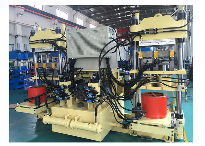 200 Ton Rubber Brake Pad Making Machine / Hot Press Machine With Isobaric Cylinder
