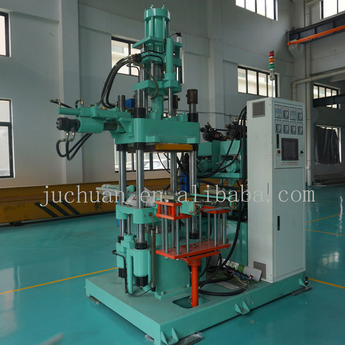 Vertical AO 3000CC Upper Injection Moulding Machine For Silicone Rubber 300 Ton Clamping Force 0
